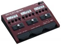 Zoom B3n Zoom B3n - Pedal multiefeitos    - 100 presets utilizadores  - 3 grandes ecrãs LCD com interfaces intuitivas  - simulações de amplificadores de graves, defletores e microf...